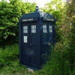 Tardis at Garden Party